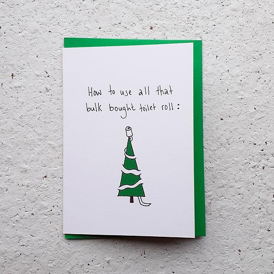 Bulk Roll Christmas Card