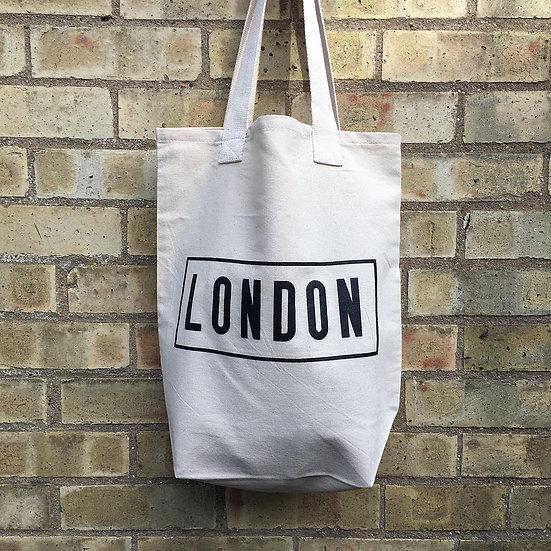 London Canvas Bag