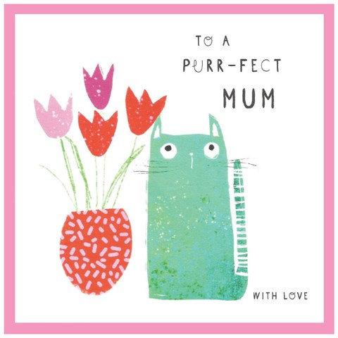 Purr-fect Mum Card