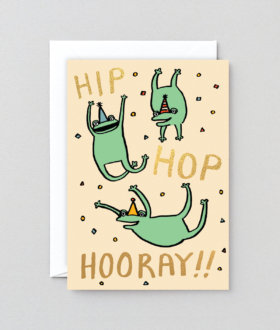 Hip Hop Hooray Card