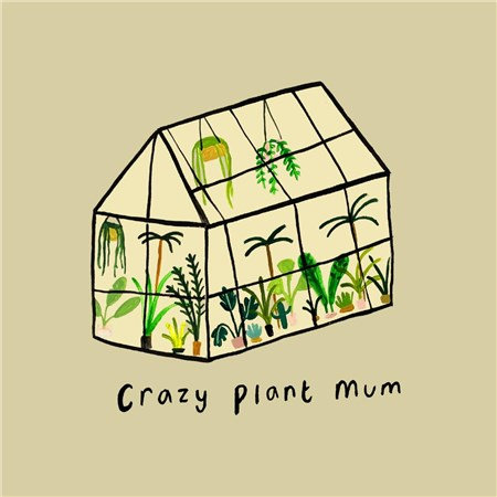 Plant Mum Card