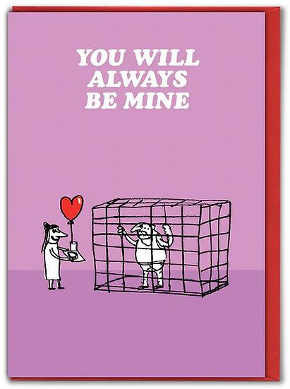 Always Be Mine Card