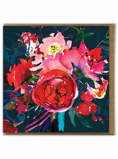 Floral Peony Card