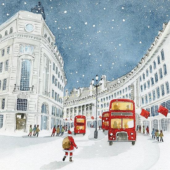 London Bus Charity Card Set