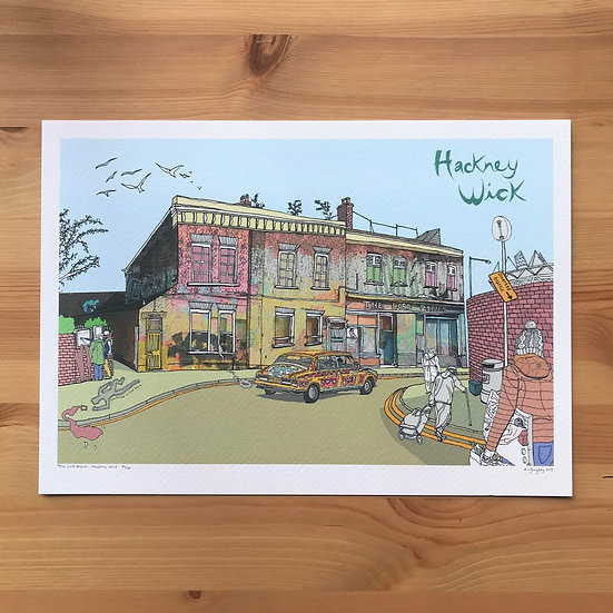 Hackney Wick Print by Adam Doughty