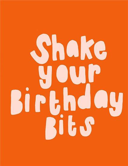 Birthday Bits Card
