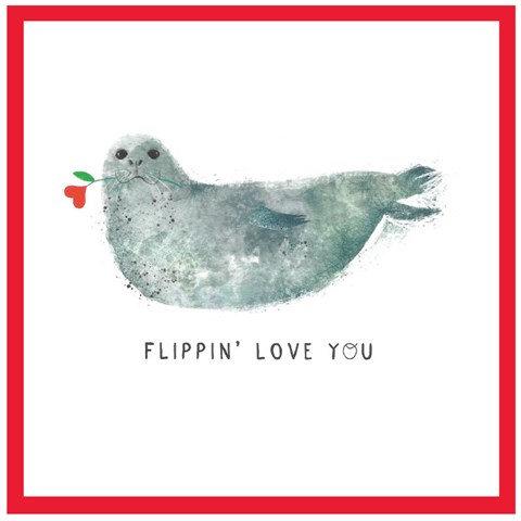 Flippin' Love You Card