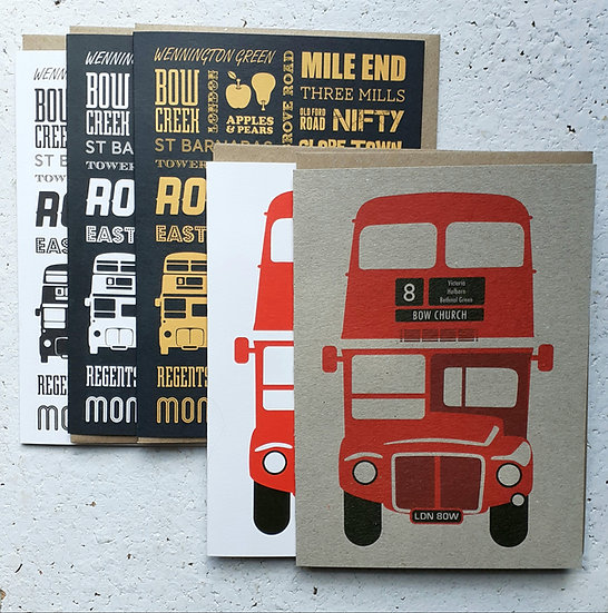 East London Card Set