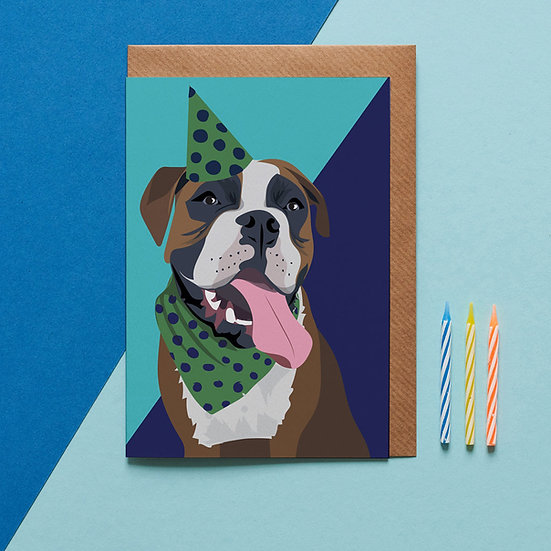 Party Dog Card