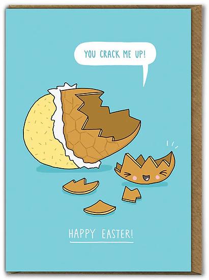 Crack me up Easter Card