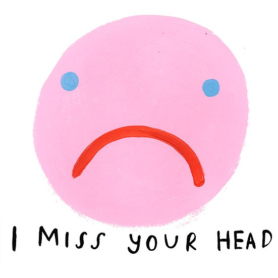 Miss Your Head Card