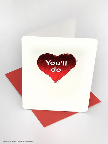 You'll Do Card