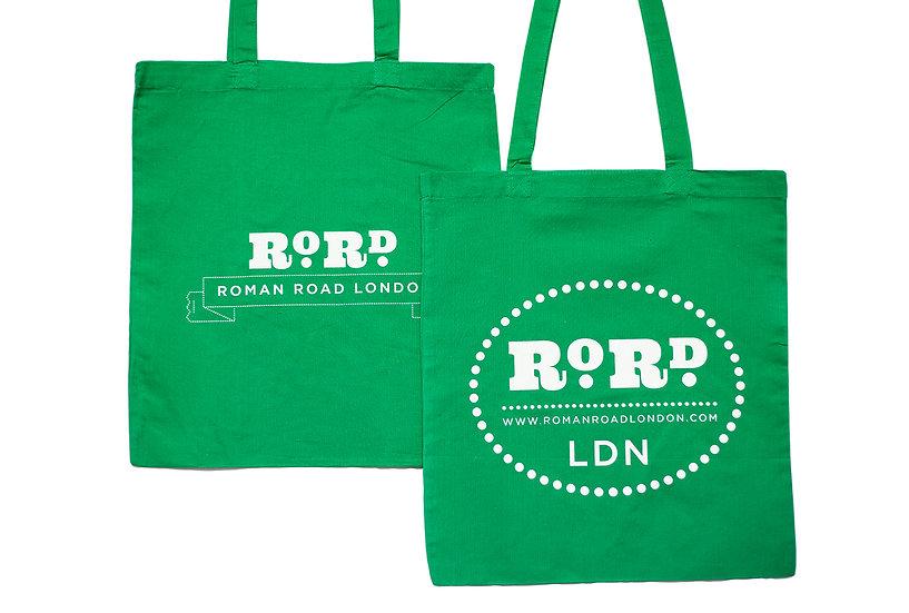 Roman Road Tote Bag