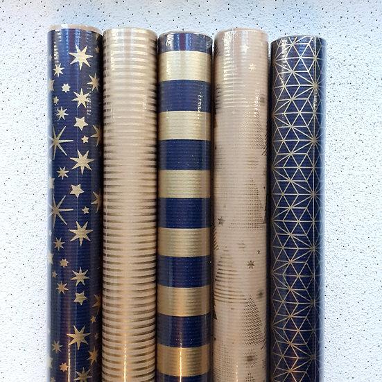 Roll Wrap Bundle NAVY/GOLD