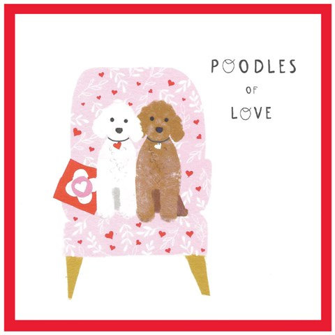 Poodles of Love Card