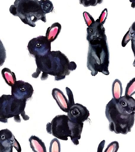 Bunnies Wrap x2 Sheets
