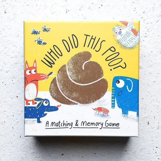 Who did this poo matching memory game