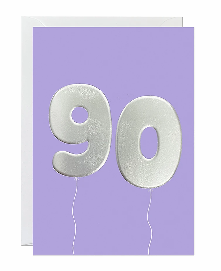 90 Balloon Card