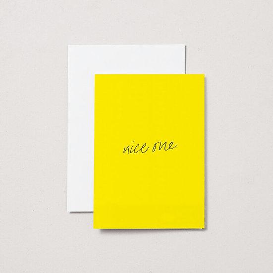Nice One Card