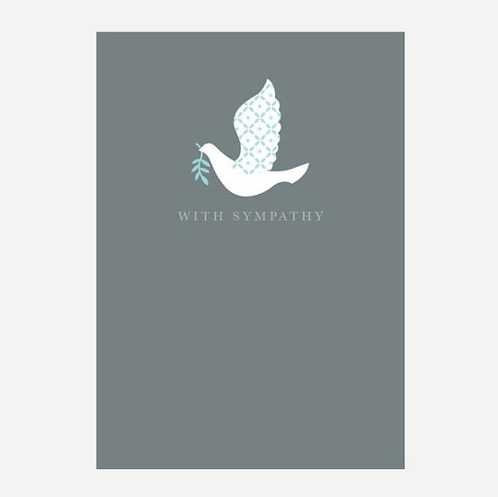 With Sympathy Dove
