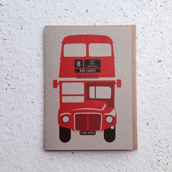 No 8 Bus Card