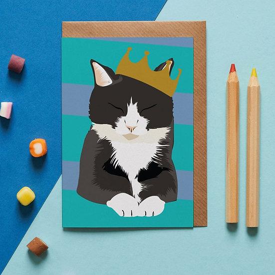 King Cat Card