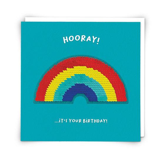 Hooray Rainbow Card
