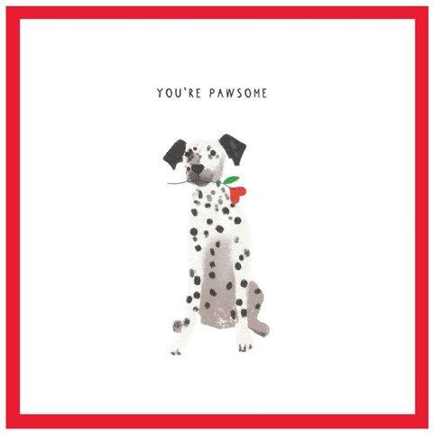 You're Pawsome Card