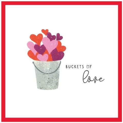 Buckets of Love Card