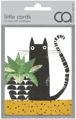 Black Cat Mini Card Set