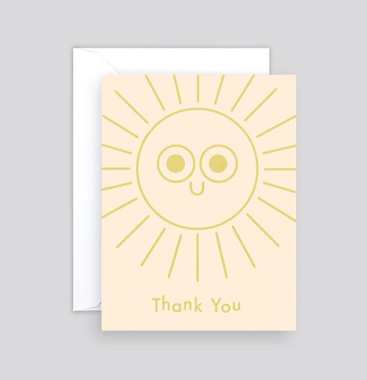 Thank You Sunshine Card
