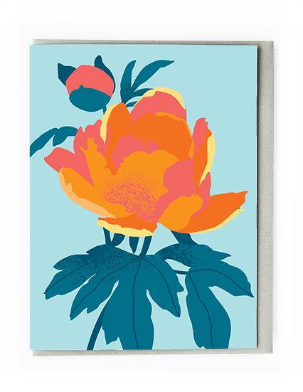 Mini Floral Card