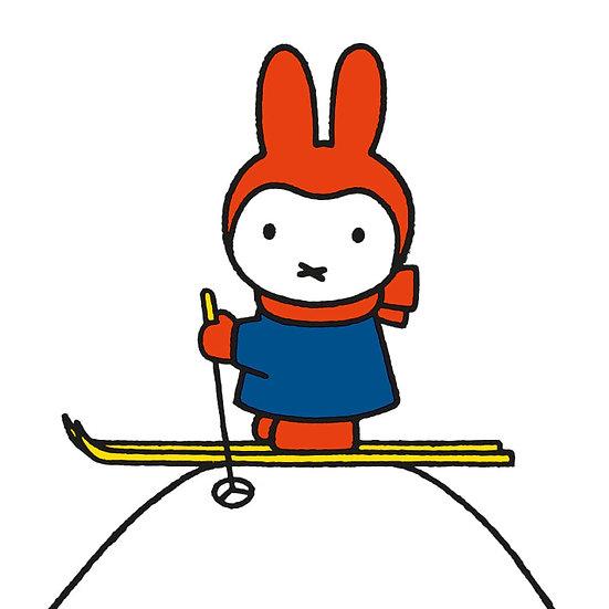 Miffy Skiing Christmas Card Pack