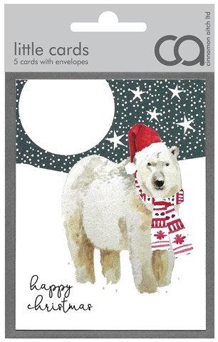 Polar Bear Mini Card Pack