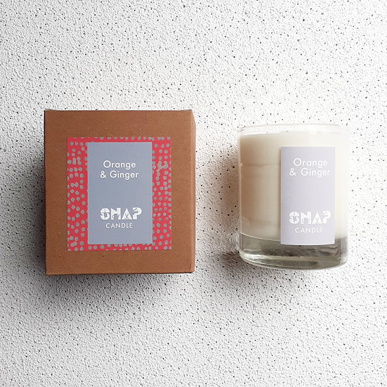 Orange and Ginger Candle