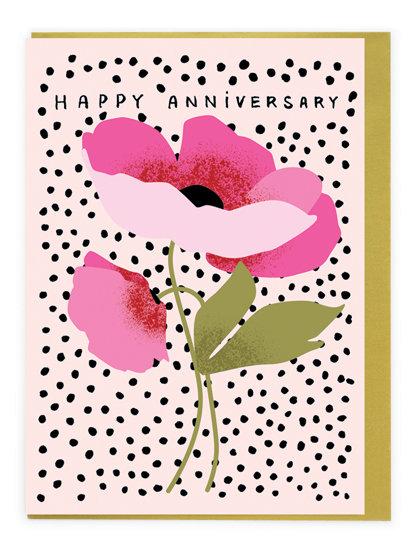 Anniversary Flower Card