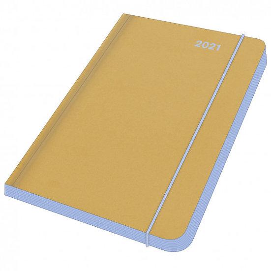 Mini Flexi Diary 2021 Blue