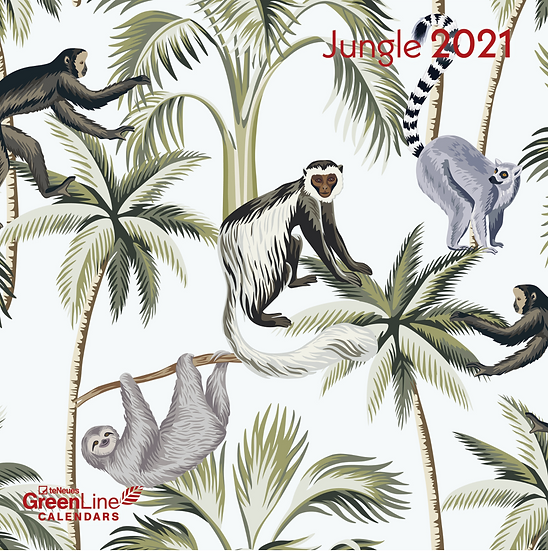 Jungle 2021 Calendar