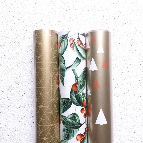 Roll Wrap Bundle GOLD + BERRIES