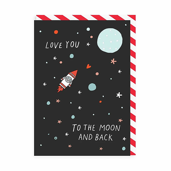 Moon + Back Card
