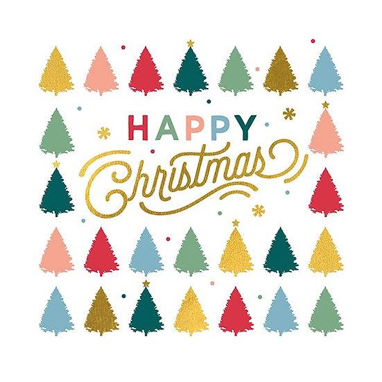 Happy Christmas Charity Card Set