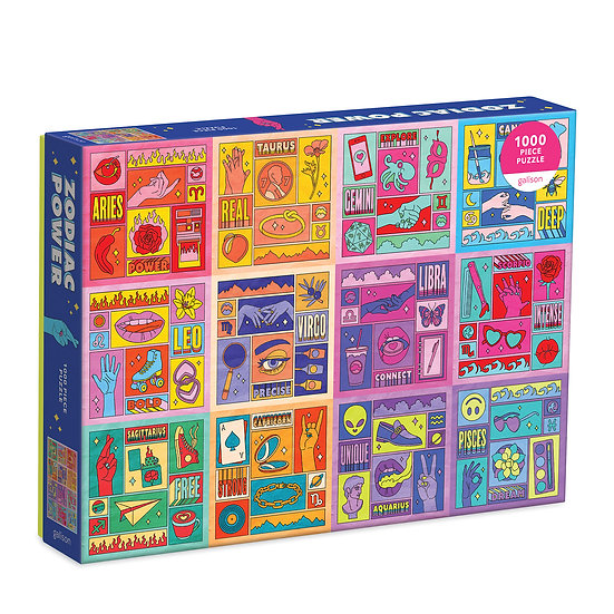 Zodiac Power 1000 Piece Puzzle