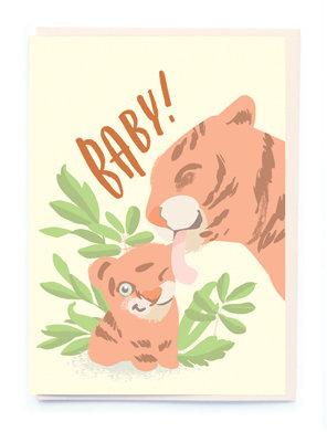 Baby Tiger Card