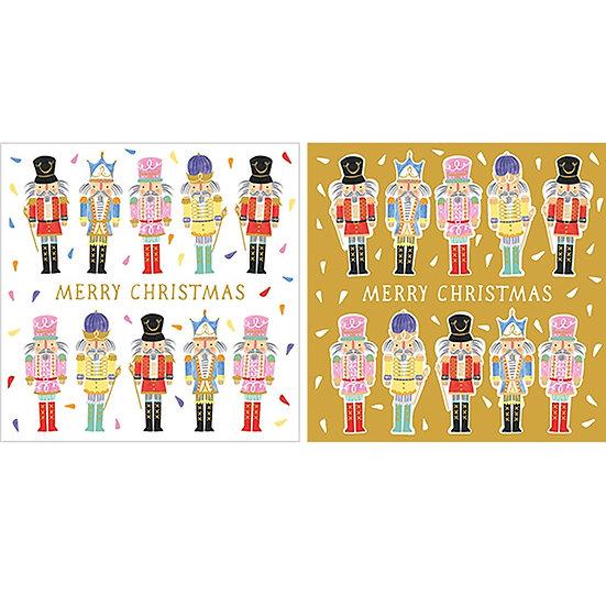 Nutcracker Christmas Card Set