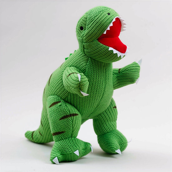Large Knitted T-Rex