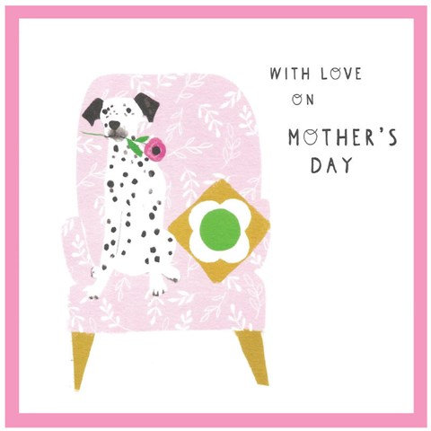 With Love Mother's Day Card