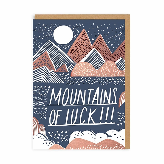 Mountains of Luck Card