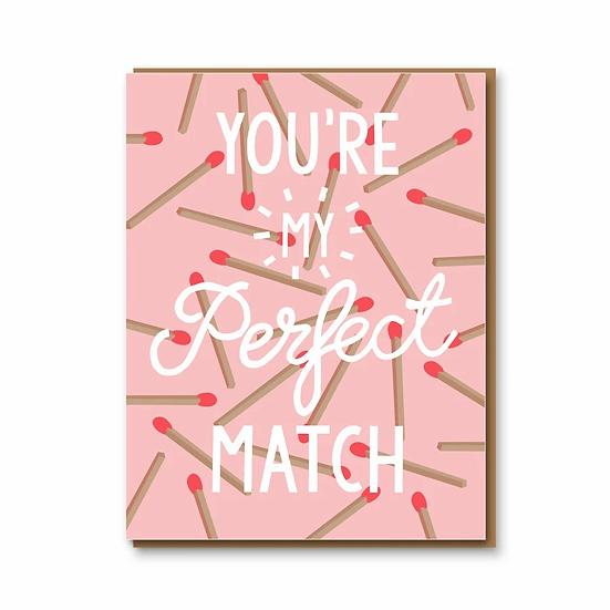 Perfect Match Card