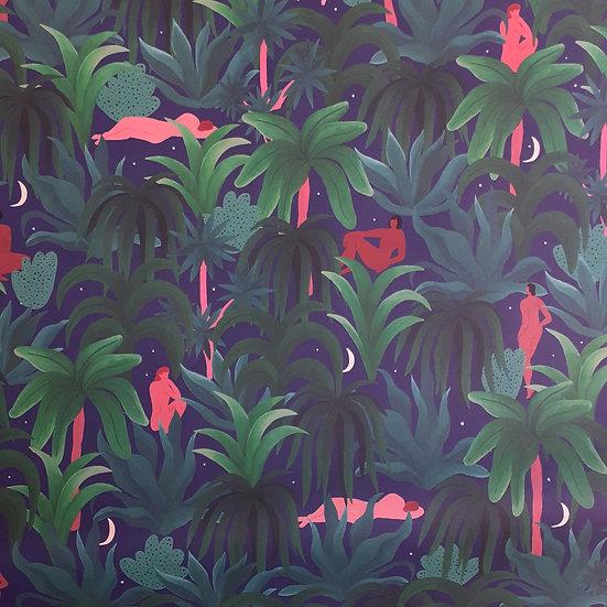 Night Jungle Wrap x2 Sheets