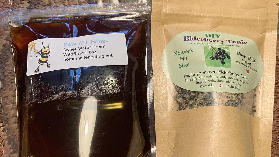 DIY Elderberry Tonic Kit
